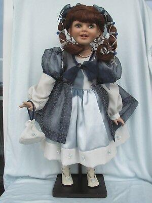 Elegante Sammlerpuppe Puppe Lady Ca.37cm Hoch Neu Dolls