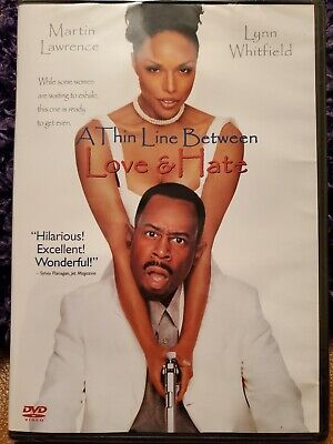 A Thin Line Between Love And Hate (DVD,1996)