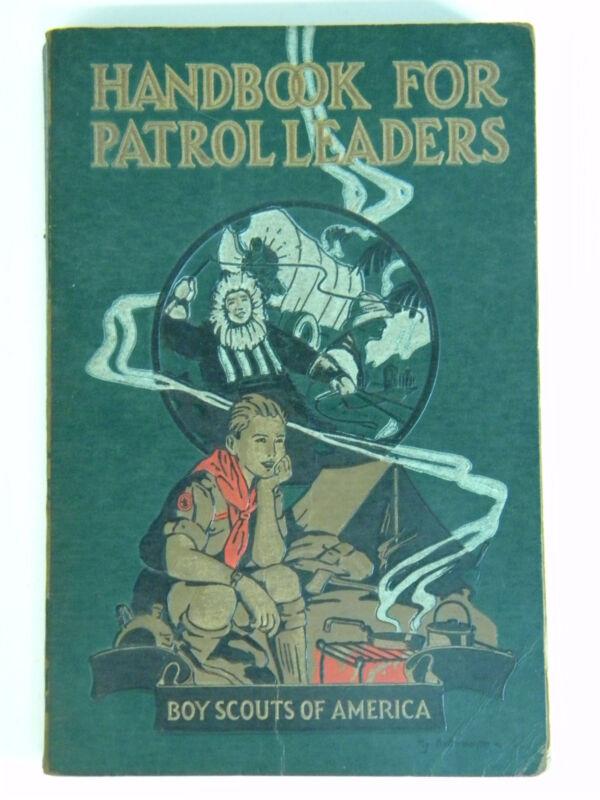 1929 Handbook for Patrol Leaders Boy Scout America Book Clean Complete