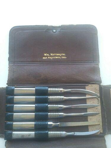 William Hatteroth Surgeons Instrument Set w/ 20 Instruments