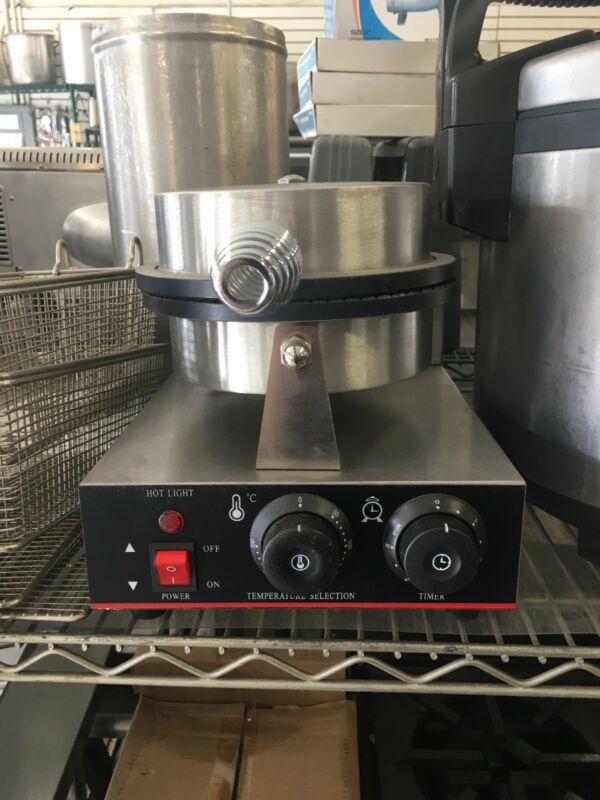 New Commercial Waffle Cone Maker