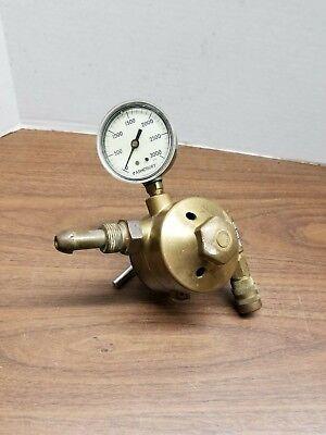 Airco 805 9429 Brass Nitrogen Regulator 555