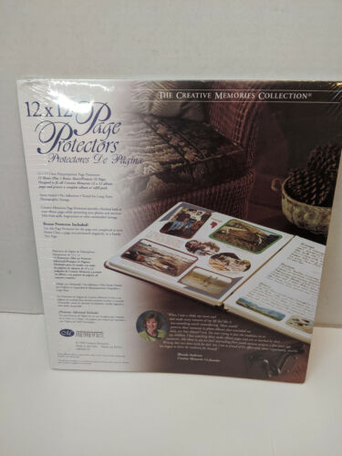 12x12 Page Protectors for Creative Memories Scrapbook Album