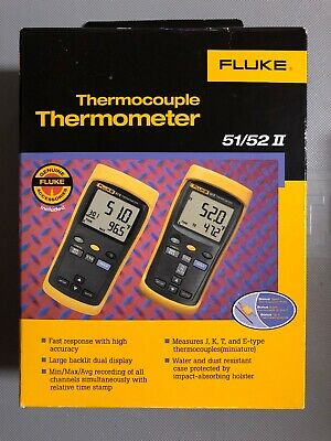 New Fluke 5152 Ii Thermocouple Thermometer Original Box