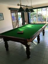 9ft Billiard Table /Pool / Snooker Table with Overhead Light etc. Knoxfield Knox Area Preview