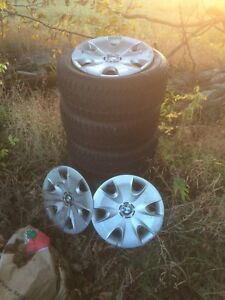 205/155/16 Snow Tires. BMW 325xi. Cobourg. $275