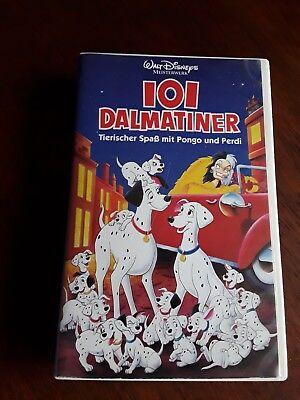 VHS Walt Disney Meisterwerke 101 Dalmatiner