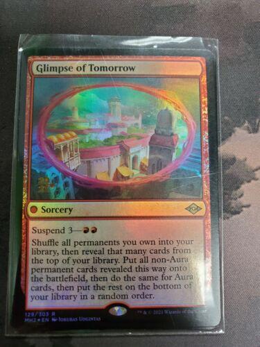 Mtg * Glimpse Of Tomorrow Prerelease X1* (nm) Modern Horizons 2 Magic