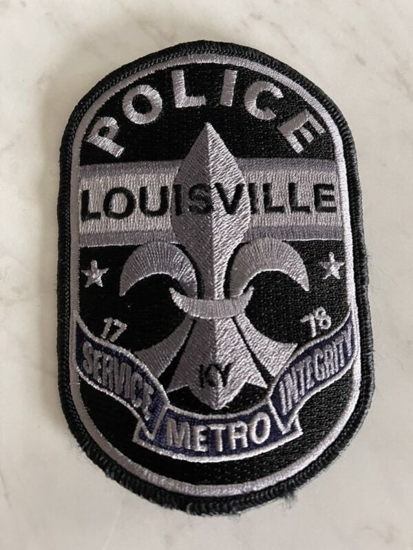 Louisville Metro Police Kentucky subdued patch