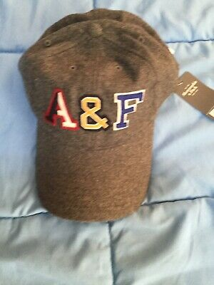 ABERCROMBIE & FITCH, ADJUSTABLE  HAT, CAP, ONE SIZE, NWT, FREE SHIPPING, (V653)