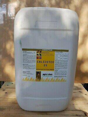 AGRISYSTEM CALCIOTEC SHORTAGE CALCIUM LIQUID FRUIT TREES ORTO 25 KG