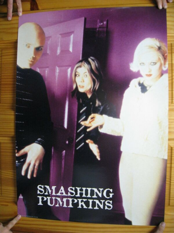 Smashing Pumpkins Poster The Band Shot Purple Door