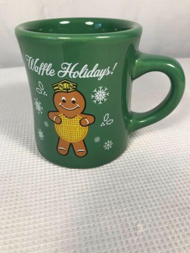 Waffle House Waffle Holidays! Christmas  Mug 2016 Green Tuxton