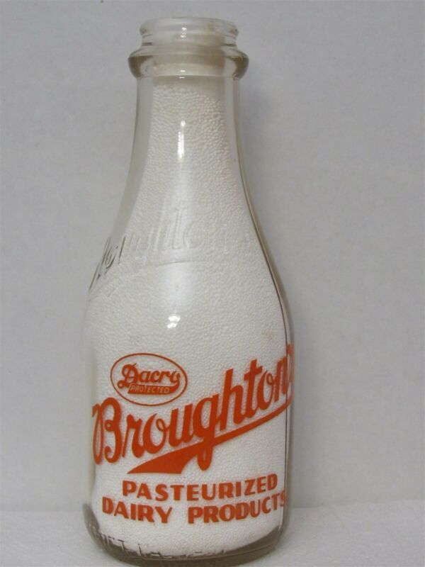 TRPQ Milk Bottle Broughton Broughton
