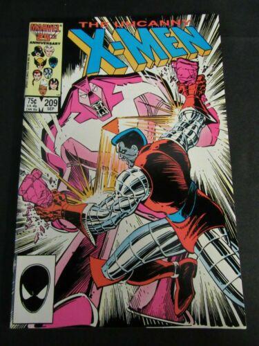 Uncanny X-Men #209 (1986) Copper Age NM 9.2-9.4 K917