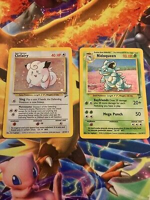 Base Set 2 Pokemon Lot of 23 cards w/ Holos/UnCom/Common & Trainer PLAYED *Read*