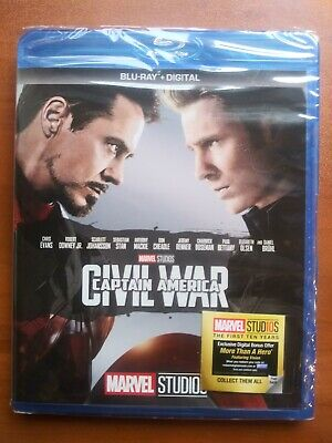 Captain America: Civil War BLU-RAY  + DIGITAL CODE     NS-see Detail