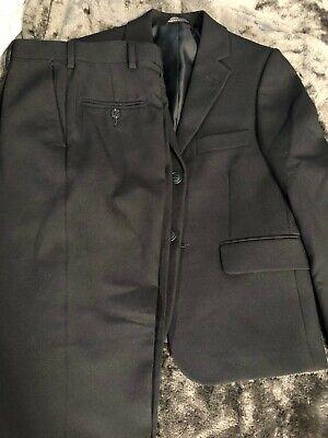 Navy Blue Communion Suits (Boys Navy Blue 2 Pc Suit First Communion, Graduation,Wedding size)