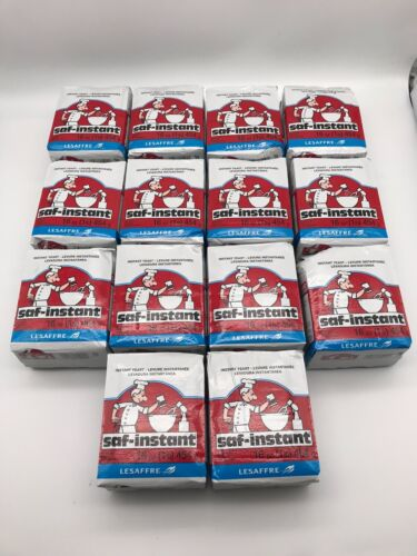 2 Lbs SAF Instant Yeast for bread baking 1LB/ 16oz vacuum pack pouches EXPEDITED