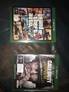 Call of duty WW2 and GTA V for the Xbox one Subiaco Subiaco Area Preview
