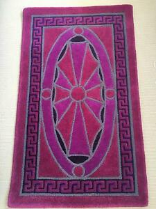 Luxury Versace Floor Rug - Pink and Purple Highland Park Gold Coast City Preview