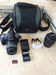 Sony A330 DSLR Camera with Accessories