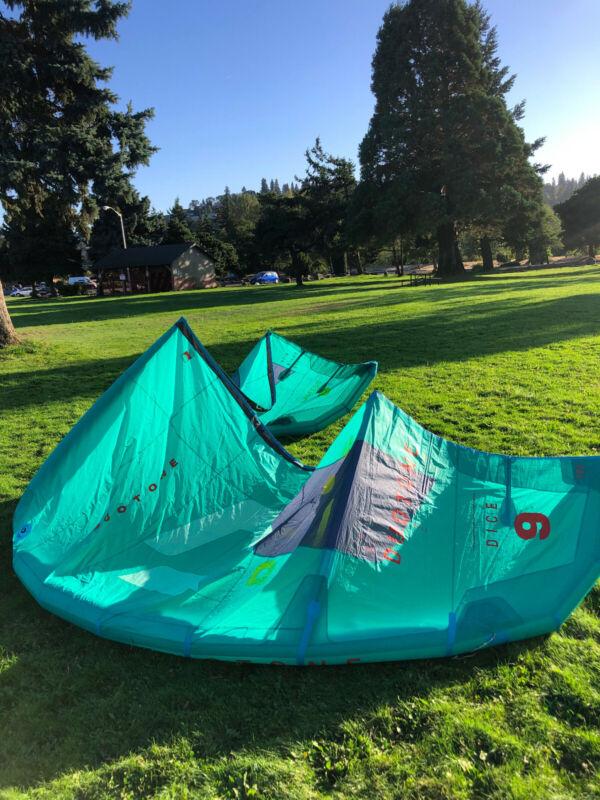 2020 Duotone Dice 9m Good condition, mint color. Kiteboarding kite,