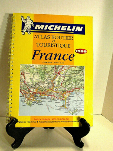 MICHELIN ATLAS OF FRANCE 1999 IN FRENCH