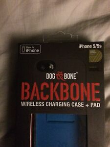 Dog bone charing case and charging pad