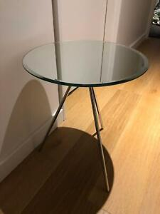 Mirror Side tables X 2