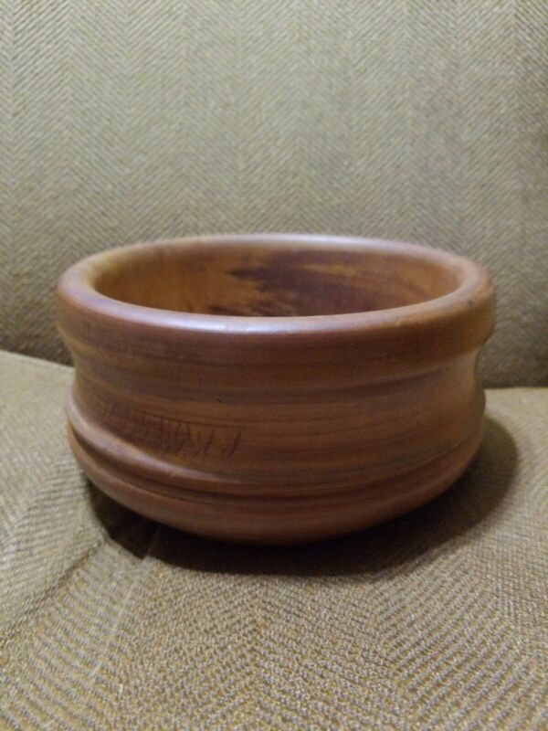 Handmade Wooden Bowl Hand Turned Artisan