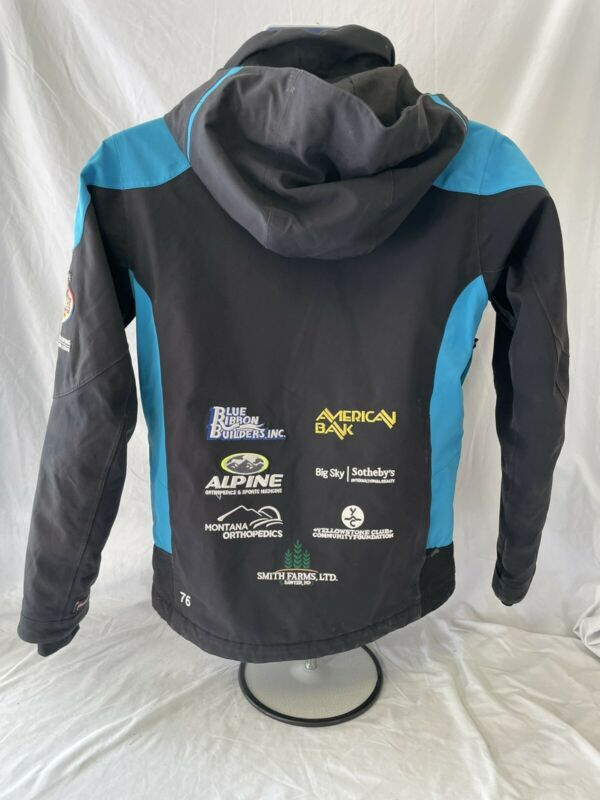 Spyder Ski Jacket Coat Sz 14 Adds Sponsored Big Sky Embroidered