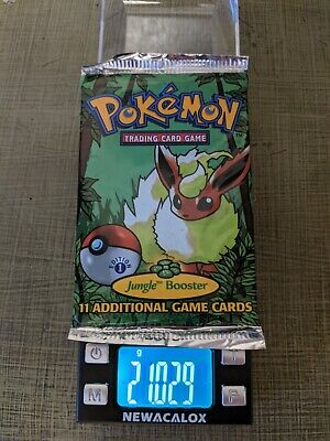 HEAVY Pokemon Jungle Booster Pack 1st Edition