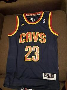 Brand New Adidas NBA LeBron James Cavs Basketball Jersey Footscray Maribyrnong Area Preview
