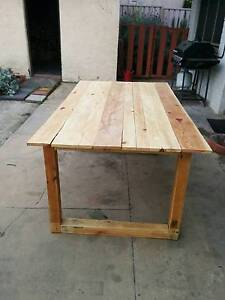 Dining Table / Outdoor table - PALLET FURNITURE Thebarton West Torrens Area Preview