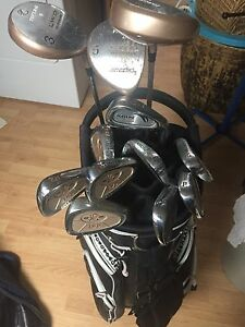 Set of Precision golf clubs