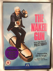 THE-NAKED-GUN-AS-NEW-DVD-LESLIE-NIELSEN-PRISCILLA-PRESLEY-FREE-POST