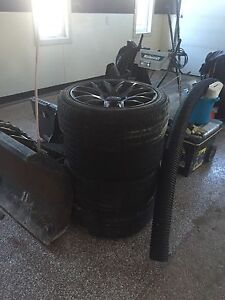 4 aftermarket rims with newer tires