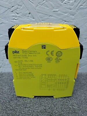 Pilz Pn0z S4 Pnoz 751104 Safety Relay 24vdc 3n.o 1n.c Din Rail Mount
