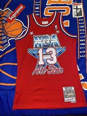 Karl Malone NBA 1991 All Star West Mitchell & Ness Men's Swingman Red Jersey M