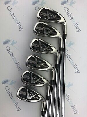 Callaway Edge Irons Mens Right Hand 6 - SW Regular Steel Shaft