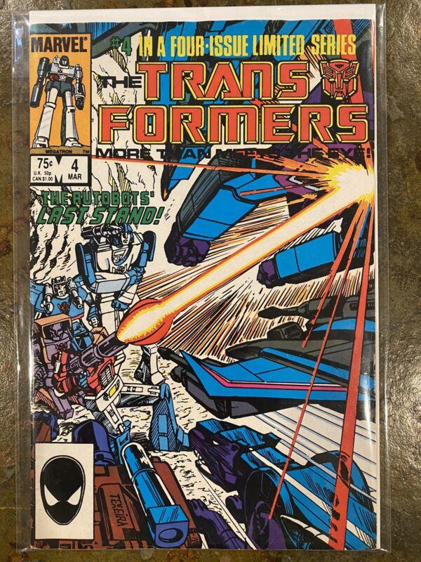 Transformers #4 Marvel Comics (Mar, 1985) 💥💥💥💥 Great Condition!!! 💥💥💥💥