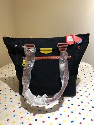 Kipling Kaeon Life Saver Large Tote Bag Blue Block