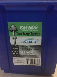 Laserlite 12 x 60mm Polycarbonate Roof Fixings - 190 Pack Girraween Parramatta Area Preview