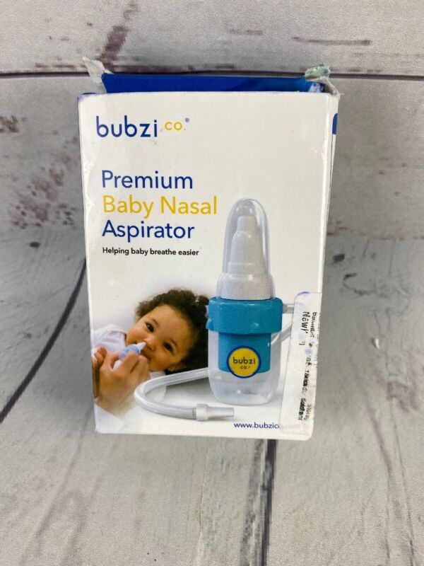 Baby Nasal Aspirator for Sinus Congestion Relief, Reusable Booger Snot  --CE1-