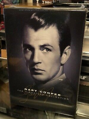 Gary Cooper  The Signature Collection  Dvd Howard Hawks  King Vidor  Stuart Heis