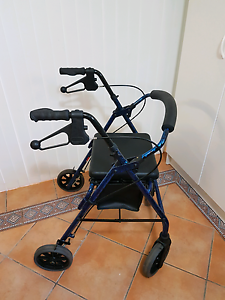 Mobility walker Rollator mobility aid walking frame disability Ascot Brisbane North East Preview