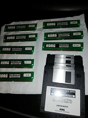 KORG  5 SCHEDE EXB-PCM-01/03/04/08/09.X TRITON CLASSIC/KARMA ECC. comprar usado  Enviando para Brazil