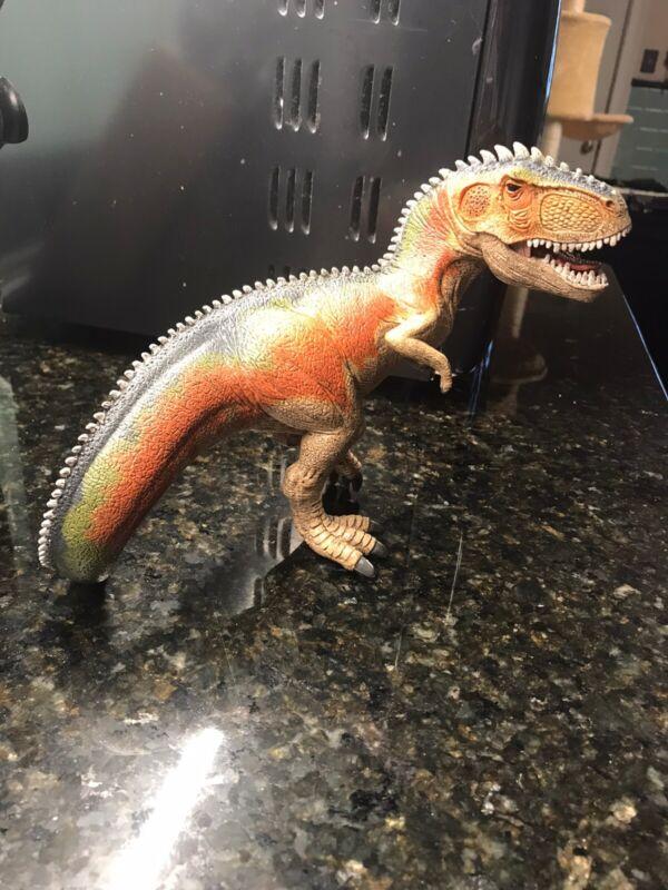 "schleich tyrannosaurus rex Dinosaur Moveable Jaw D -73527 Figure 6.5"""
