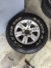 Holden Colorado alloy wheels tyres all terrain Clontarf Redcliffe Area Preview